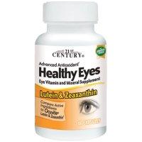 21st Century, Healthy Eyes, Lutein & Zeaxanthin - 60 Capsules