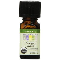 Aura Cacia, Organic, Orange, Sweet - 0.25 fl oz (7.4 ml)