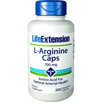 Life Extension, L-Arginine Caps, 700 mg - 200 Veggie Caps