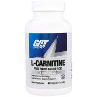 GAT, L-Carnitine - 60 Veggie Caps
