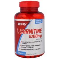 MET-Rx, L-Carnitine, 1000 mg - 180 Caplets