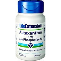 Life Extension, Astaxanthin, with Phospholipids, 4 mg - 30 Softgels