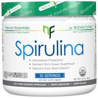 NovaForme, Spirulina, Certified USDA Pure Organic Spirulina - 5.29 oz (150 g)