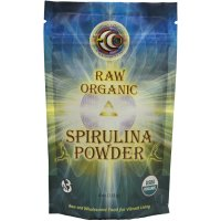 Earth Circle Organics, Raw Organic Spirulina Powder - 4 oz (113 g)