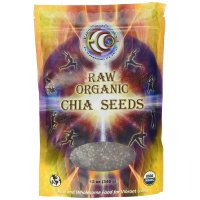 Earth Circle Organics, Raw Organic Chia Seeds - 12 oz (340 g)