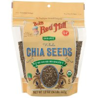 Bob's Red Mill, Oragnic Whole Chia Seeds - 12 oz (340 g)