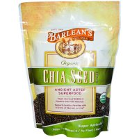 Barlean's, Organic, Chia Seed Supplement - 12 oz (340 g)