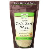 Now Foods, Real Food, White Chia Seed Meal - 10 oz (284 g)