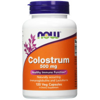 Now Foods, Colostrum, 500 mg - 120 Veggie Caps