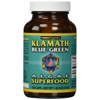 KLAMATH, Blue-Green Algae Superfood 400 mg - 130 Capsules