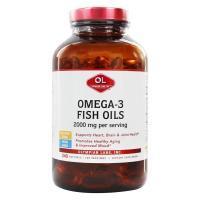 Olympian Labs Inc., Omega-3 Fish Oils, 2000 mg - 240 Softgels