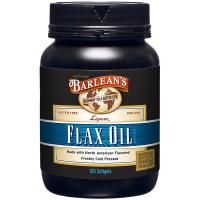 Barlean's, Lignan Flax Oil - 100 Softgels