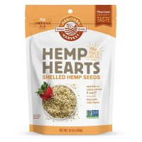 Manitoba Harvest, Organic Hemp Hearts Raw Shelled Hemp Seeds - 1 Pound Pouch