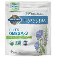 Garden of Life, 100% Organic Flax & Chia Blend - 12 oz (340 g)