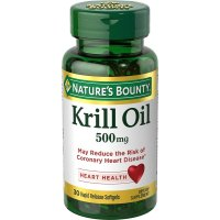 Nature's Bounty, Krill Oil, 500 mg, - 30 Rapid Release Softgels