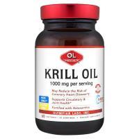 Olympian Labs Inc., Krill Oil, 1000 mg - 60 Softgels