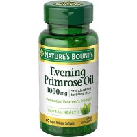 Nature's Bounty, Evening Primrose Oil, 1,000 mg - 60 Rapid Release Softgels