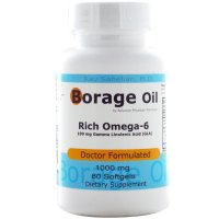 Advance Physician Formulas, Borage Oil, 1000 mg - 60 Softgels