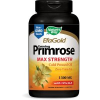 Nature's Way, EfaGold, Evening Primrose, Max Strength, 1,300 mg - 120 Softgels