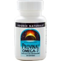 Source Naturals, Provinal® Omega-7 - 30 Softgels