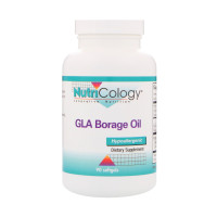 Nutricology, GLA Borage Oil - 90 Softgels