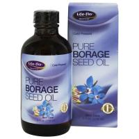 Life Flo Health, Pure Borage Seed Oil - 4 fl oz (118 ml)