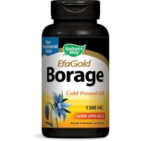 Nature's Way, EfaGold, Borage, 1300 mg - 60 Softgels