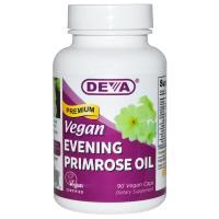 Deva, Vegan, Premium Evening Primrose Oil - 90 Vegan Caps