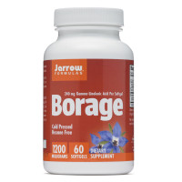 Jarrow Formulas, Borage, GLA-240, 1200 mg - 60 Softgels