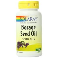 Solaray, Borage Seed Oil, GLA-240mg - 50 Softgel