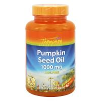 Thompson, Pumpkin Seed Oil, 1000 mg - 60 Softgels
