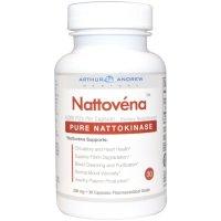 Arthur Andrew Medical, Nattovena, Pure Nattokinase, 200 mg - 30 Capsules