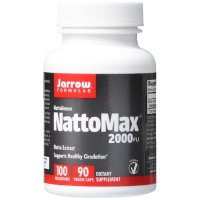 Jarrow Formulas, NattoMax 2000 FU, 100 mg - 90 Veggie Caps
