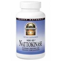 Source Naturals, Nattokinase NSK-SD, 100 mg - 30 Capsules