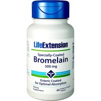 Life Extension, Specially-Coated Bromelain, 500 mg - 60 Enteric Coated Tablets