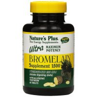 Nature's Plus, Ultra Bromelain 1500, 1500 mg - 60 Tablets
