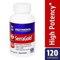 Enzymedica, SerraGold, High Potency Serrapeptase - 120 Capsules