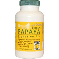 Royal Tropics, The Original Green Papaya, Digestive Aid - 5.0 oz (141.7 g)