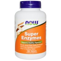 Now Foods, Super Enzymes - 180 Tablets