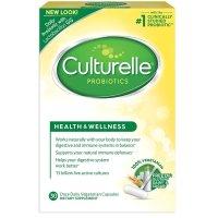 Culturelle, Health & Wellness Probiotic - 30 Vegetarian Capsules