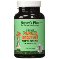 Nature's Plus, Chewable Papaya Enzyme Supplement - 360 Tablets