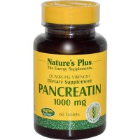 Nature's Plus, Pancreatin, 1000 mg - 60 Tablets