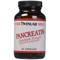 Twinlab, Pancreatin - 50 Capsules