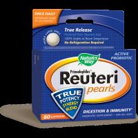 Nature's Way, Primadophilus Reuteri Pearls - 60 Capsules