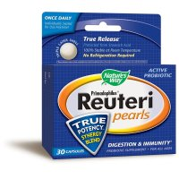 Nature's Way, Primadophilus Reuteri Pearls - 30 Capsules