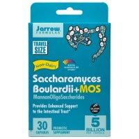 Jarrow Formulas, Saccharomyces Boulardii + MOS, 5 Billion - 30 Veggie Caps