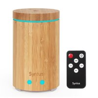 SNTUS, Real Bamboo Essential Oil Ultrasonic Aromatherapy Diffuser with Remote Control - 16