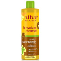 Alba Botanica, Hawaiian Shampoo, Coconut Milk  - 12 oz. (355 g)