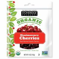 Stoneridge Orchards, Organic Montmorency Cherries - 4 oz (113 g)