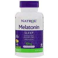 Natrol, Melatonin, Sleep, Fast Dissolve, Citrus Flavor , 10 mg - 100 Tablets